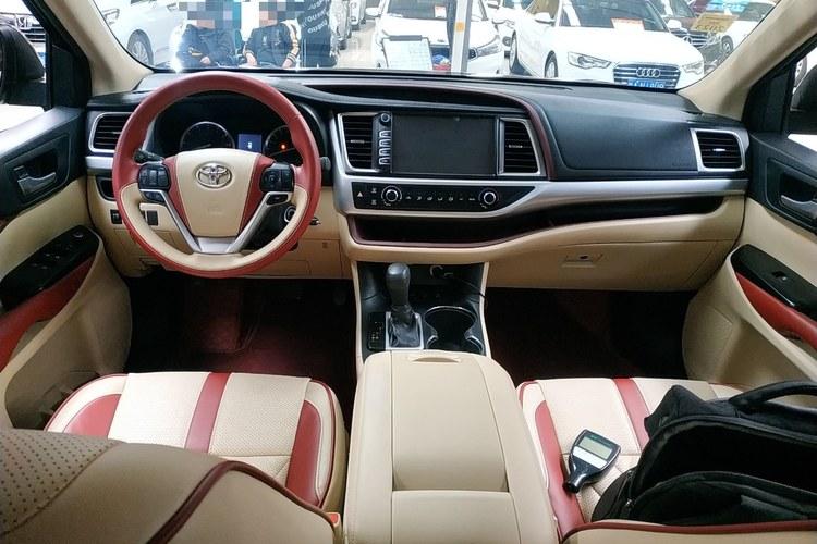 2017-01 丰田 汉兰达 2015款 2.0T 四驱精英版 7座